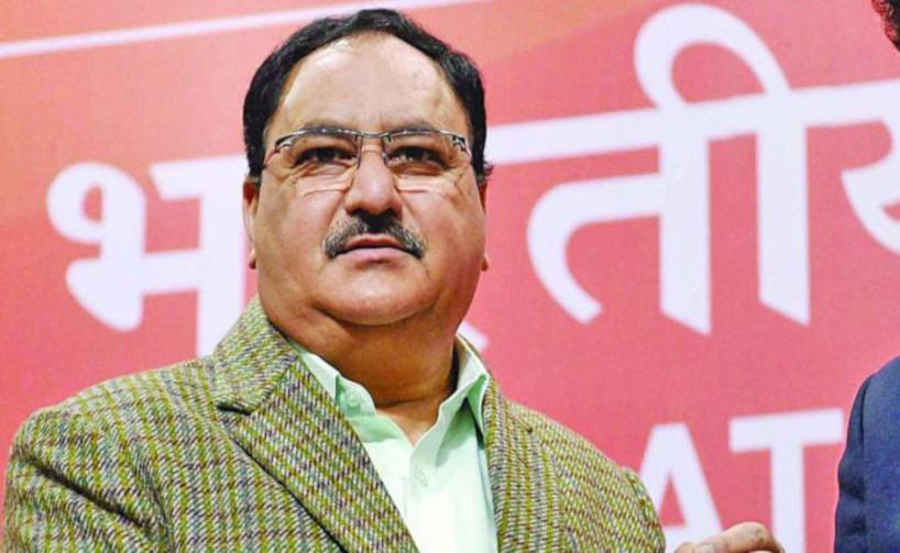 JP Nadda elected unopposed  as BJP president