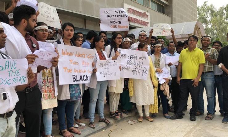 doctors agitation