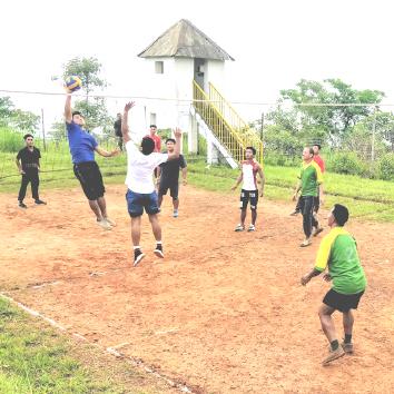 volleyball match