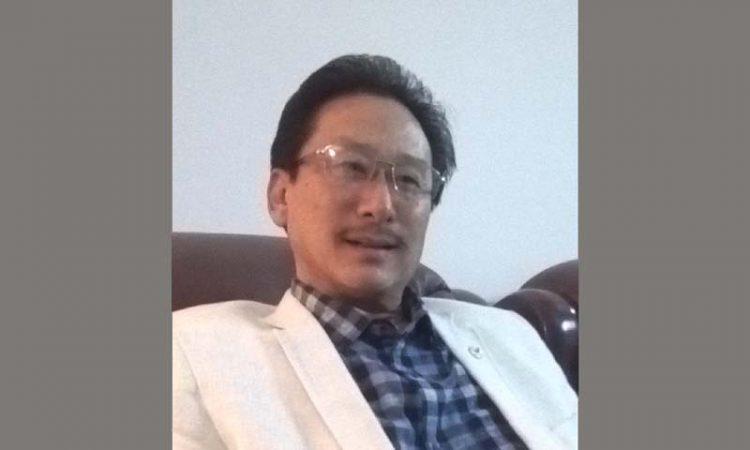 KG Kenye  Nagaland Rajya Sabha MP