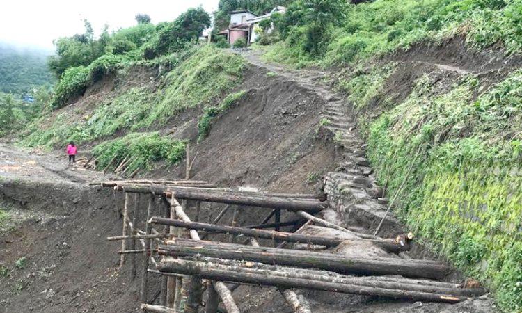 Pfutsero landslide