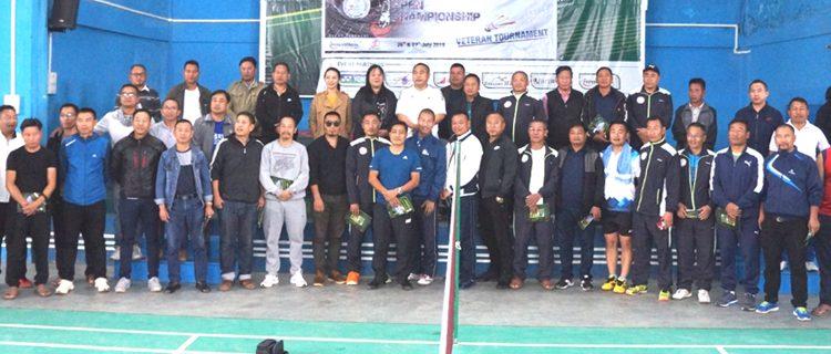 Phek Dist Badminton