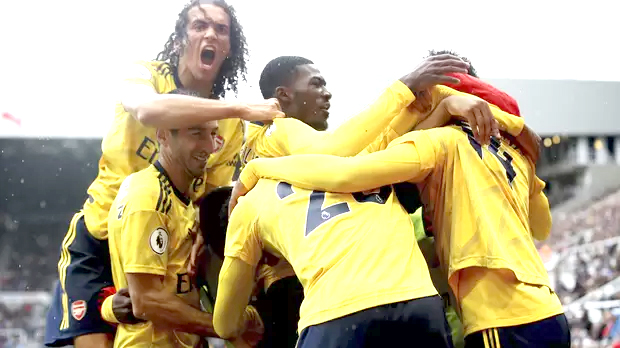 Arsenal victory