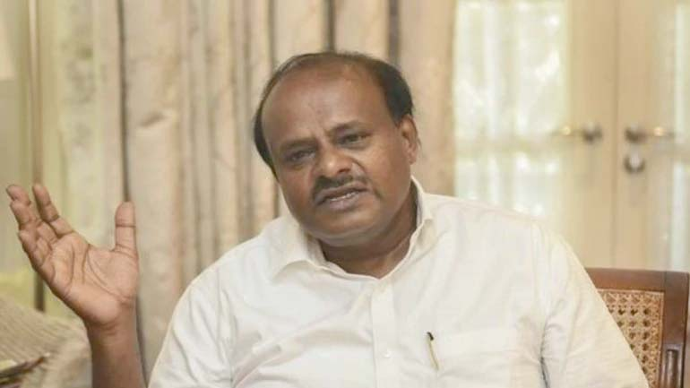 Kumaraswamy hints at leaving politics, says he became CM 'accidentally'