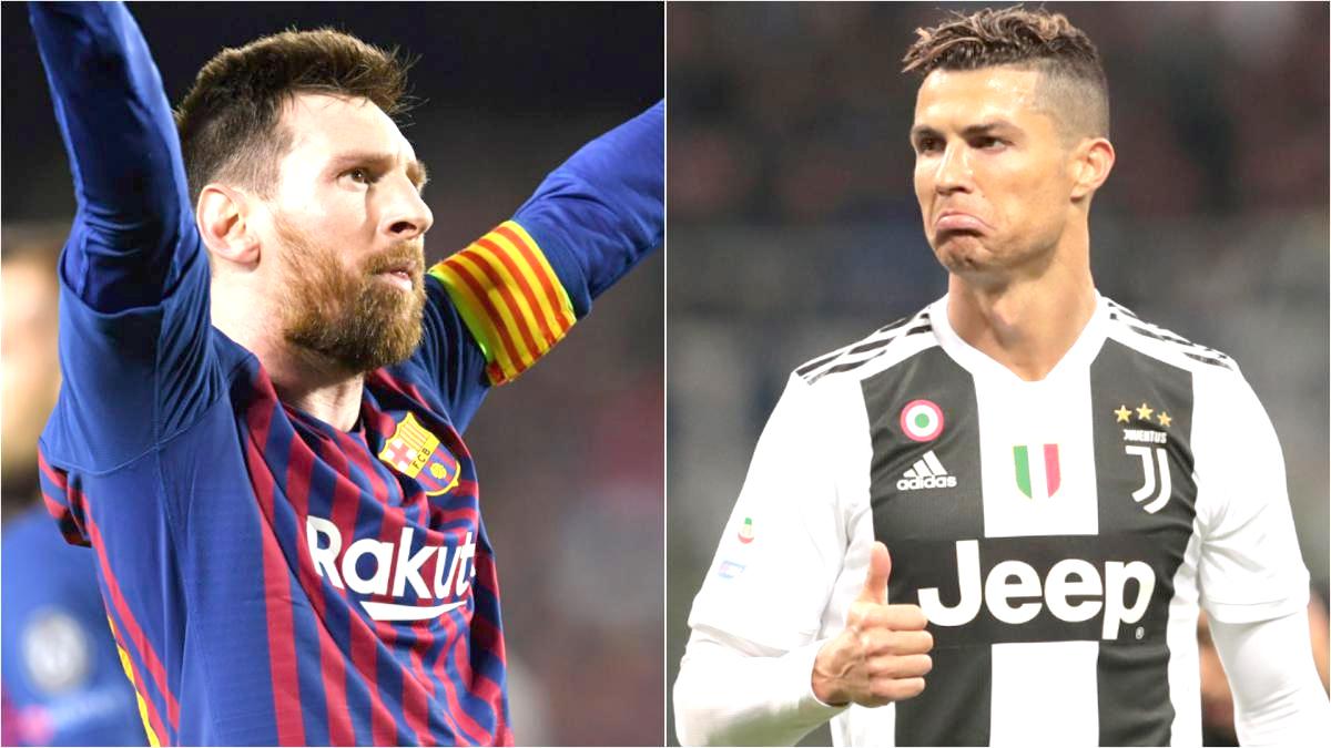 Messi beats Ronaldo