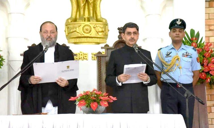 Ravi sworn in