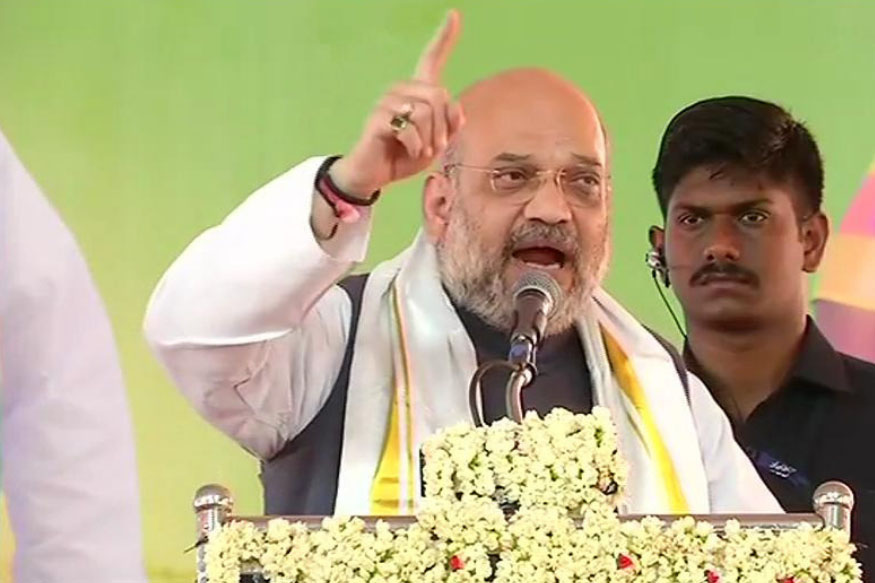 Infiltrators will be thrown  out of India: Shah