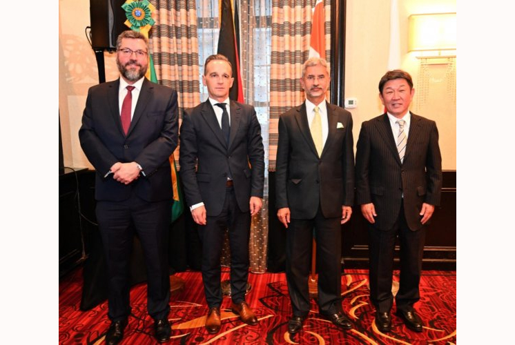 G4 nations reiterate commitment to early reforms of UN Security Council