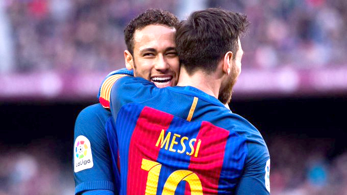 Messi wanted Neymar
