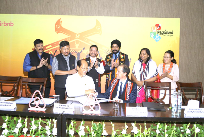 Nagaland inks pact with Airbnb to boost tourism