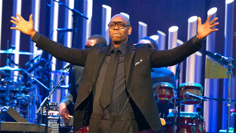 Dave Chappelle receives Mark Twain award