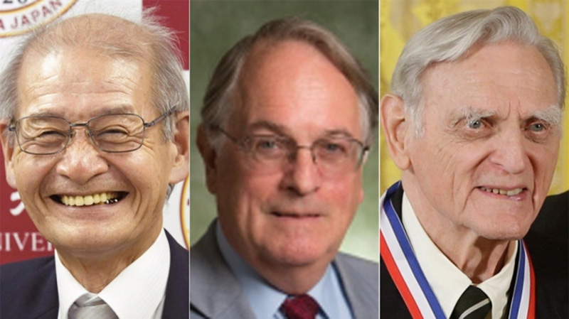 3 scientists win Nobel in Chemistry for  work on lithium-ion batteries