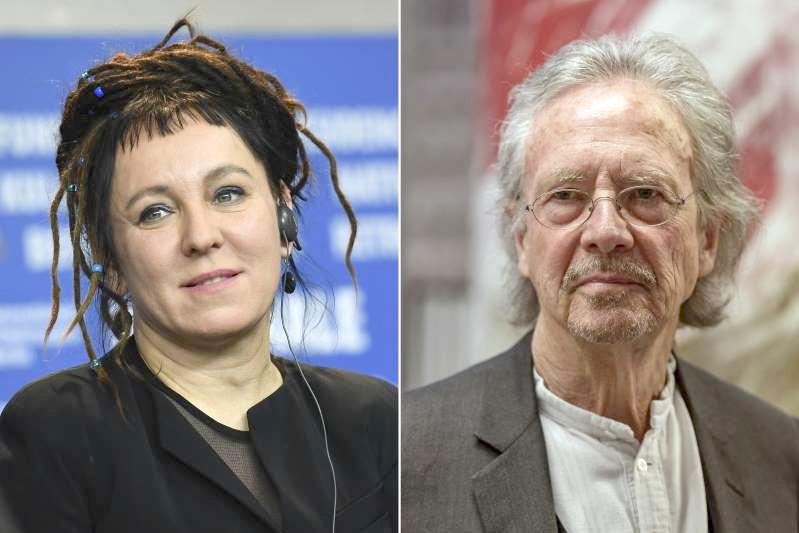 Handke and Pole Tokarczuk win Nobel Prizes for Literature