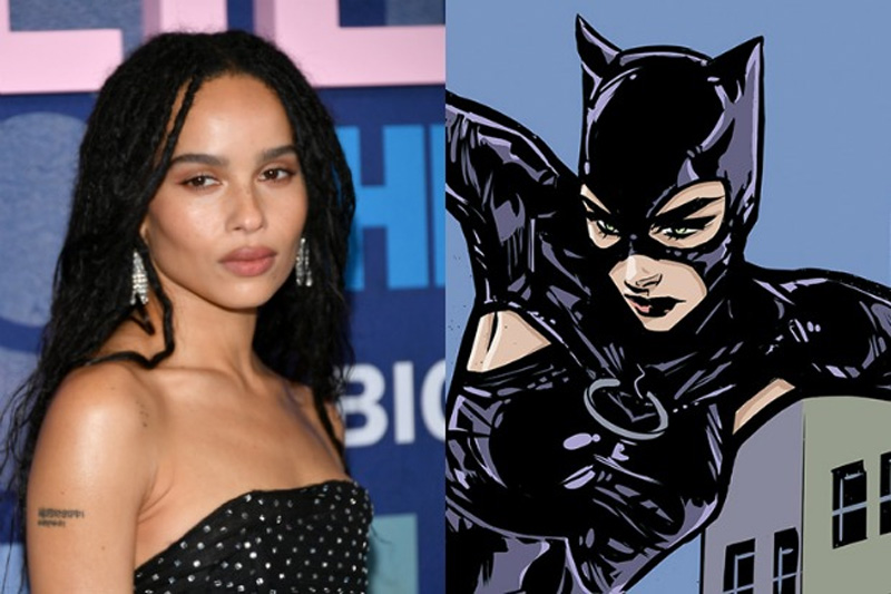 Zoe Kravitz will play Catwoman to Robert Pattinson's Batman in new film