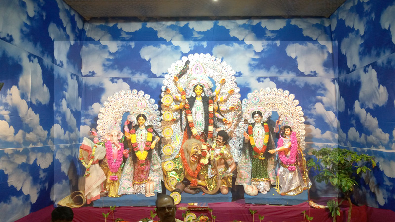 Durga Puja festivities begin in Nagaland