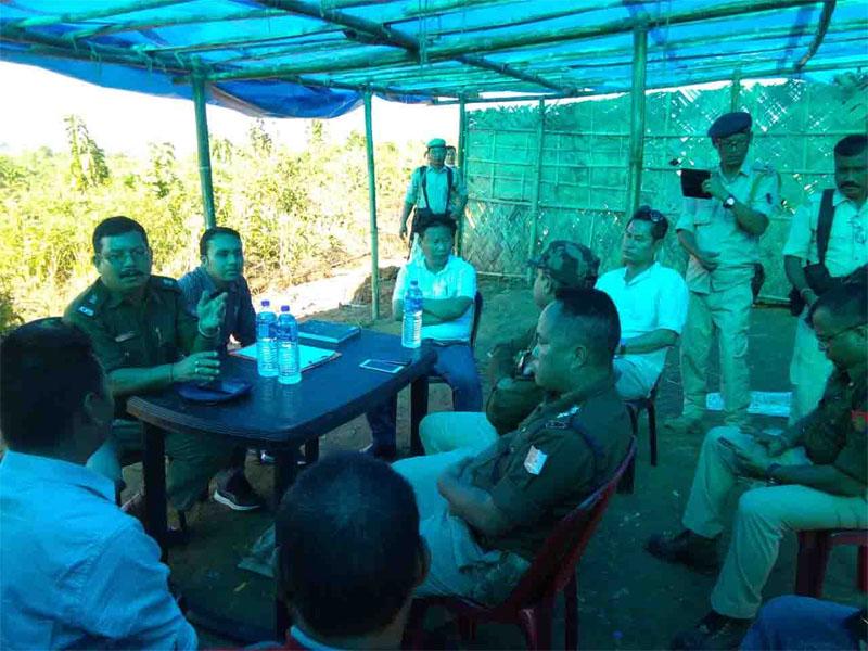 Nagaland opposes BOP construction at Lahorijan, works halted