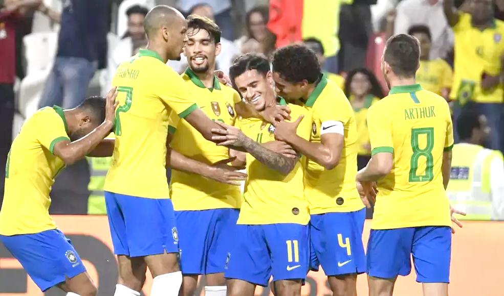 Coutinho helps Brazil