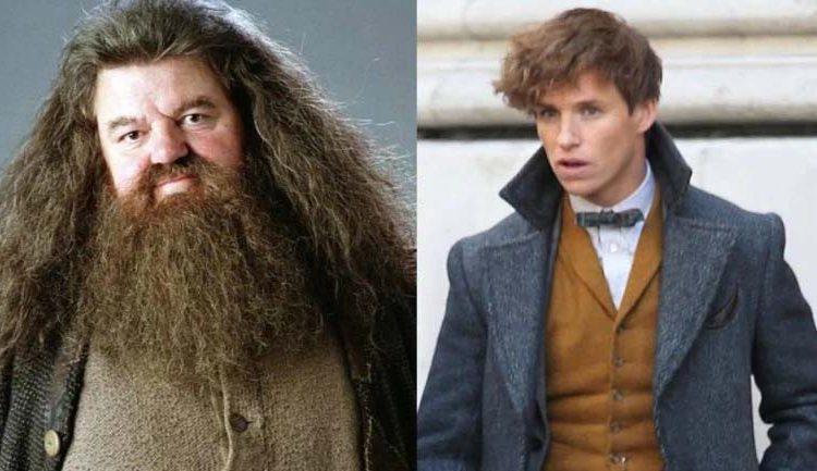 Eddie Redmayne wants Hagrid