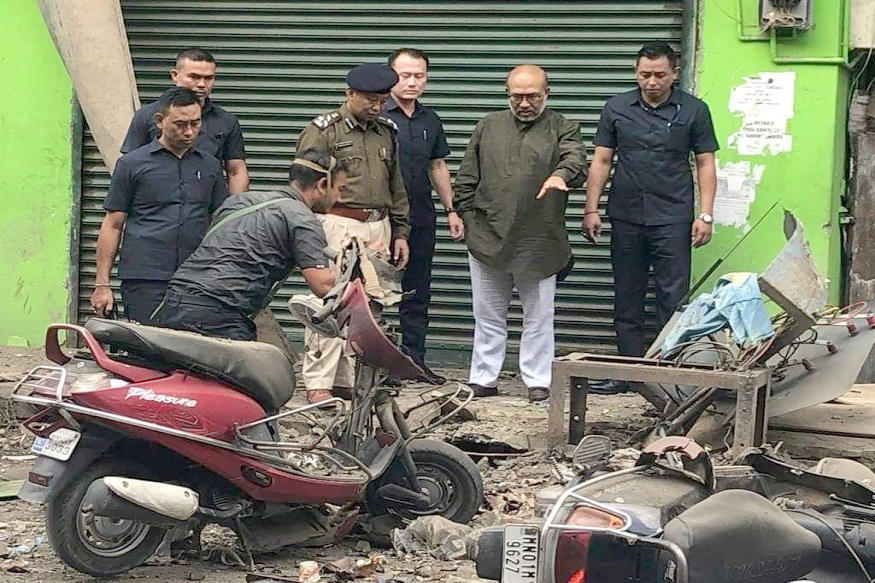 Imphal IED blast injures 5 policemen, a civilian