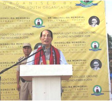 Jamir at Imkonglima memorial