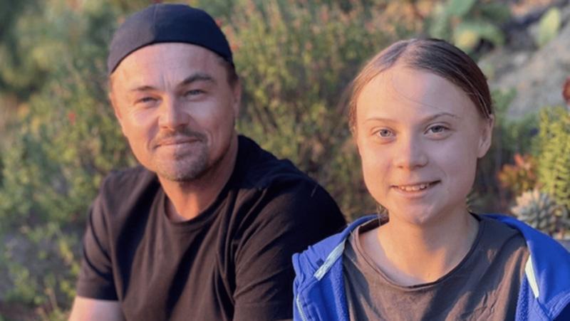 Leonardo DiCaprio meets Greta Thunberg, hails her as 'leader of our time'