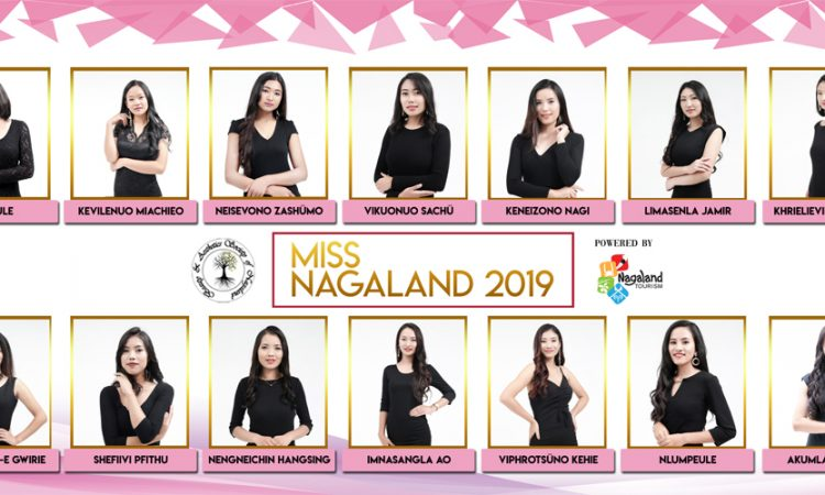 Miss Nagaland contestants