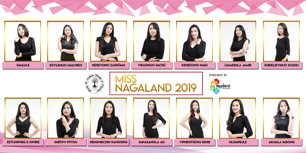 14 beauties to vie for Miss Nagaland 2019
