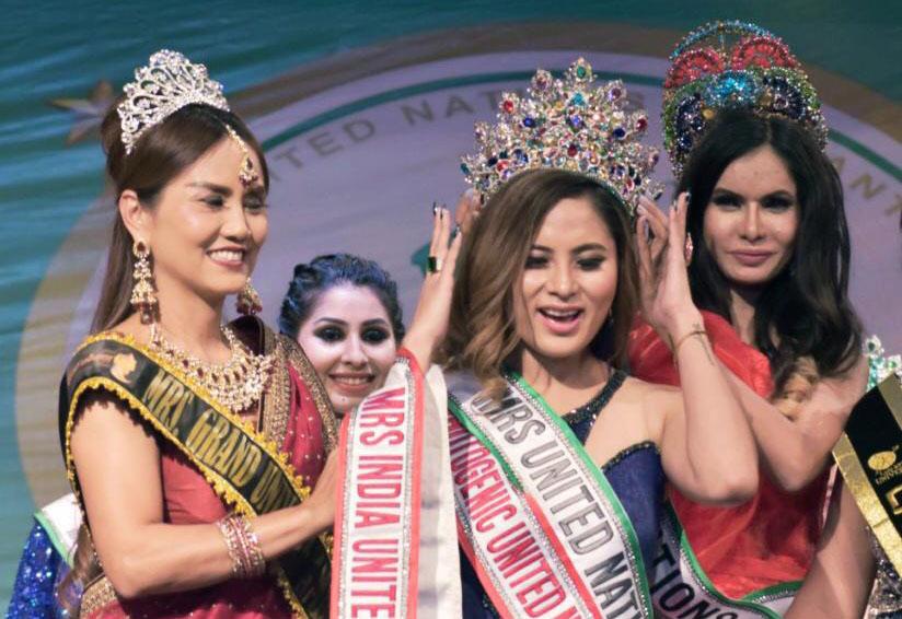 Jessica Snock A.K. wins Mrs. United Nations Universe