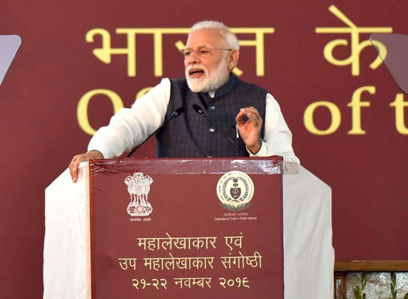 Find innovative methods to check frauds, improve efficiency in govt departments: PM to auditors