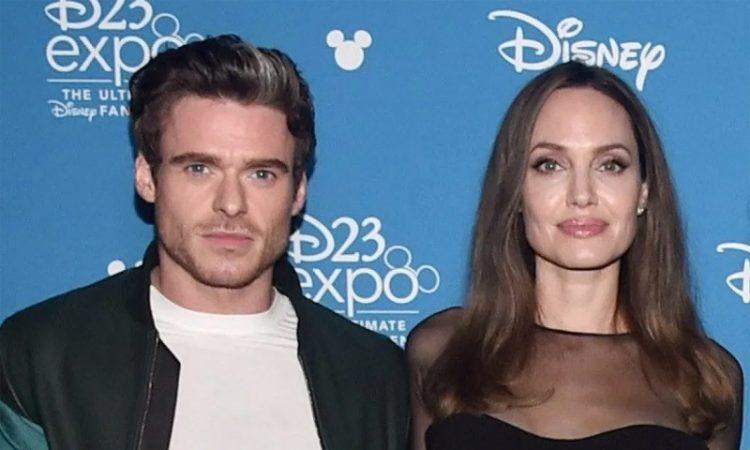 Richard Madden and Angelina Jolie