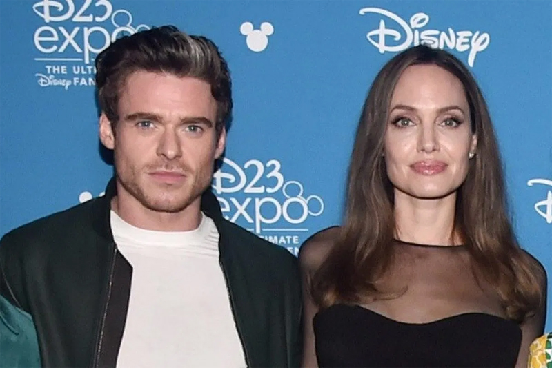 Richard Madden and Angelina Jolie forced to flee set