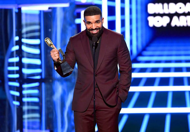 Drake is the most-streamed artiste of the decade