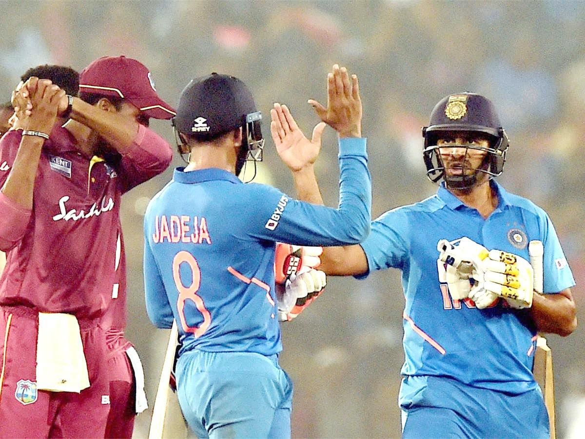 India beat Windies