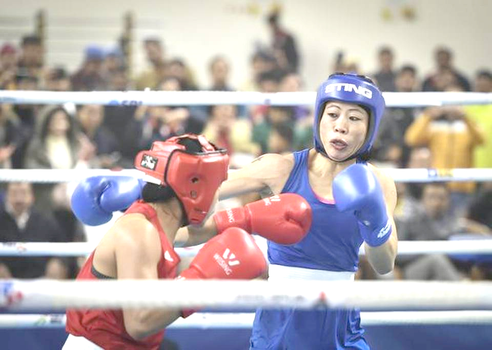 Kom beats Zareen