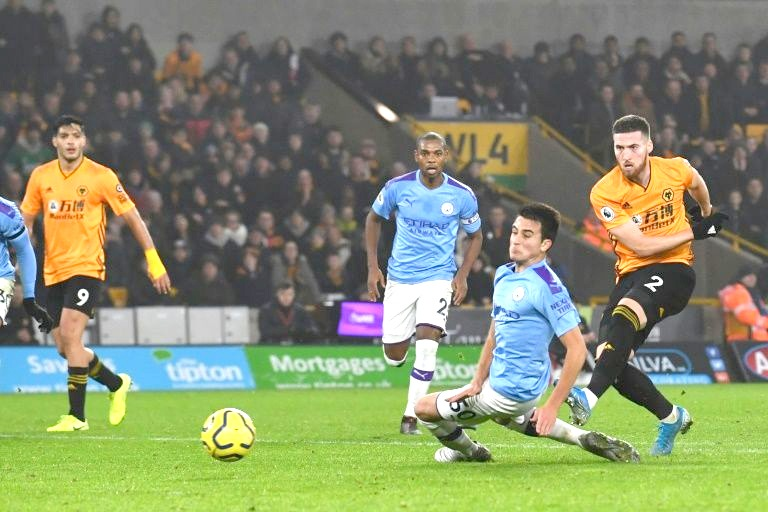 collapse at Wolves