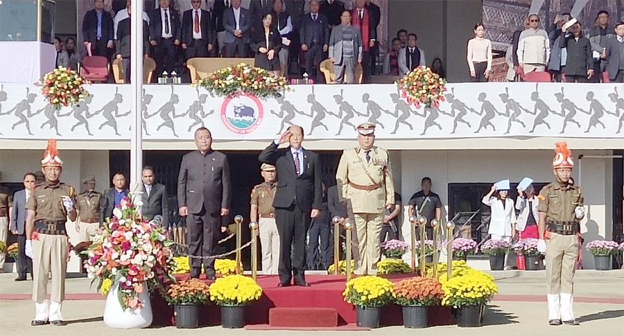 Nagaland celebrates 57th Statehood Day