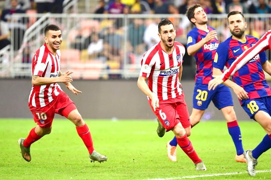 Atletico stun Barcelona