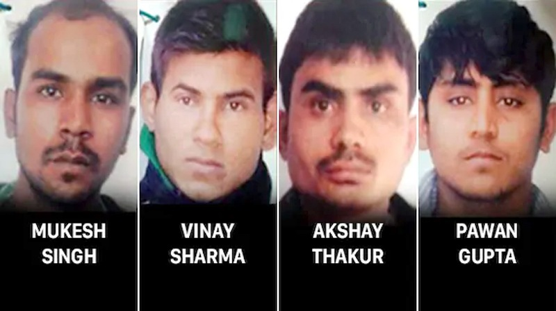 4 convicts in Nirbhaya gangrape case to be hanged on January 22