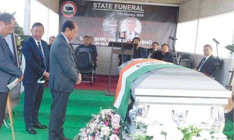 speaker funeral
