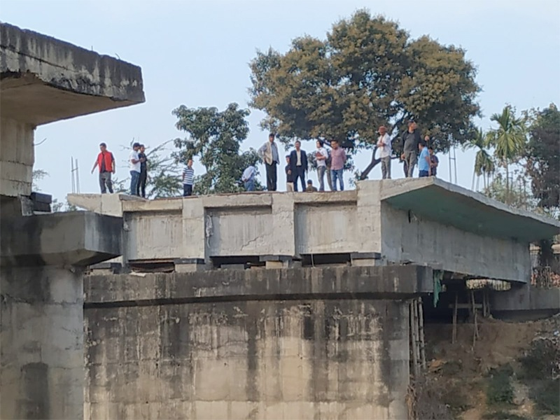 Experts in Dimapur to study bridge under  construction for 14 years