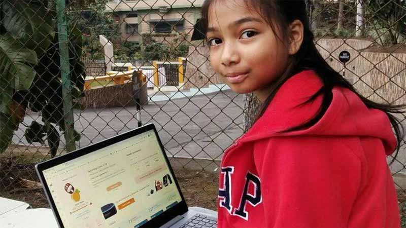 Class 4 Shillong girl