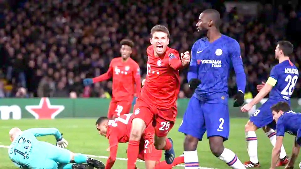 Munich thump Chelsea