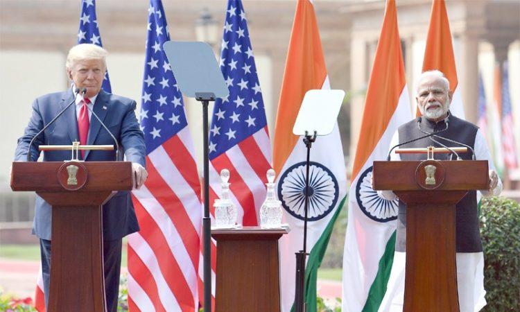 Trump Modi press conf