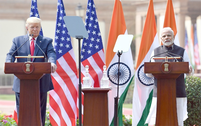 Trump steers clear of row over CAA, says Modi wants people to have religious freedom