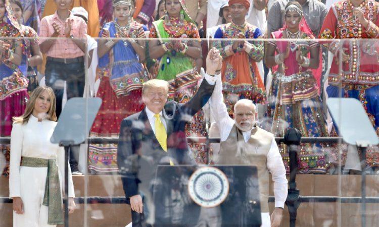 Trump in Gujarat