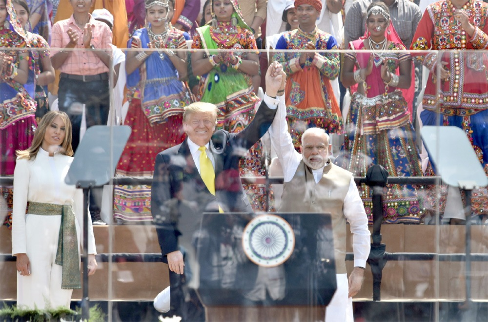 Trump praises India's unity in diversity, calls it an inspiration to the world
