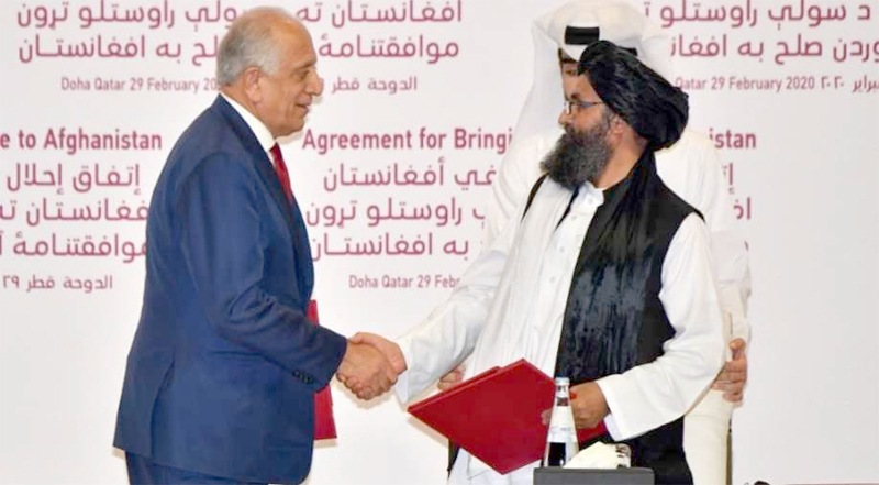 US-Taliban sign peace deal; America to  withdraw troops 'within 14 months'