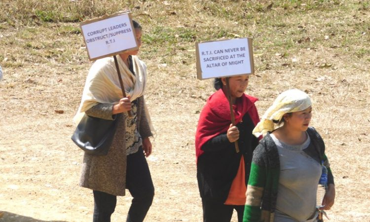 chozuba protest