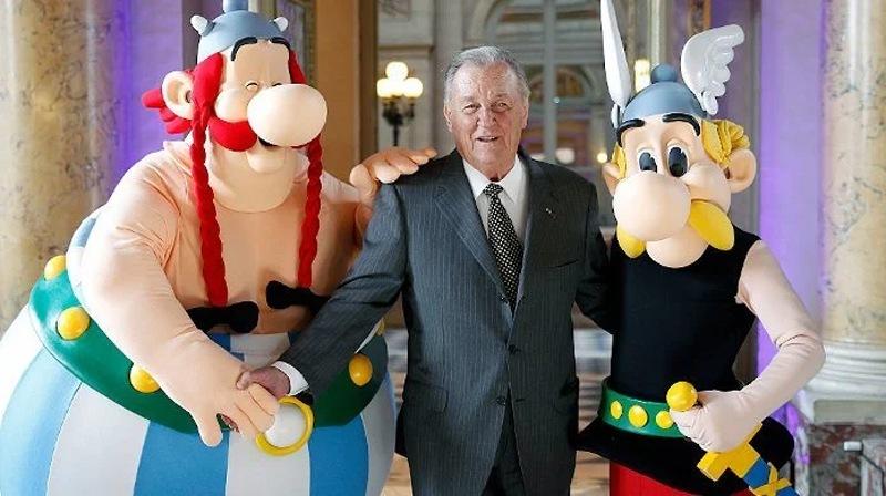 Albert Uderzo, a creator of  French hero Asterix, dies at 92