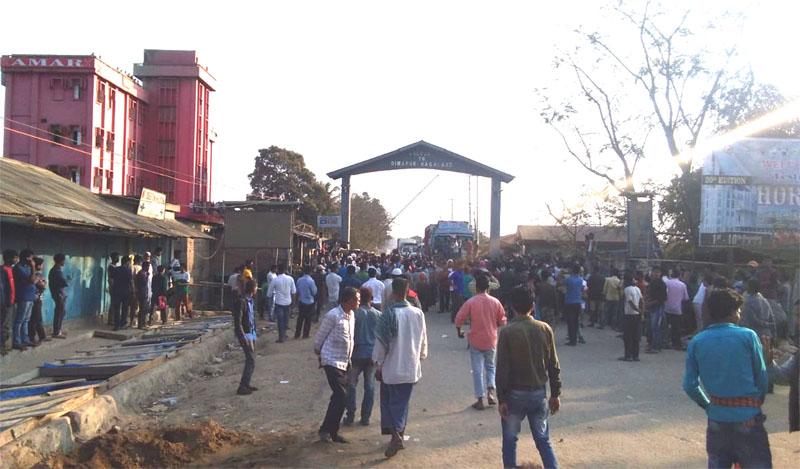 Tension along Assam-Nagaland border over ILP implementation in Dimapur